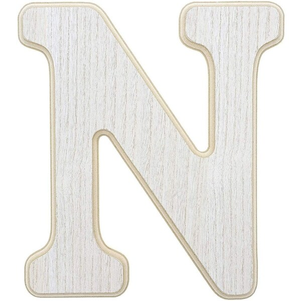 Unfinished Wood Letter K Cutout for DIY Painting 10 x .5 x 12 Inches and Wall Decor Crafts