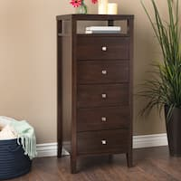 Gracewood Hollow Aristo 5-drawer Lingerie Chest