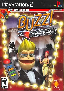PS2 - Buzz Jr. The Hollywood Quiz (Software Only)