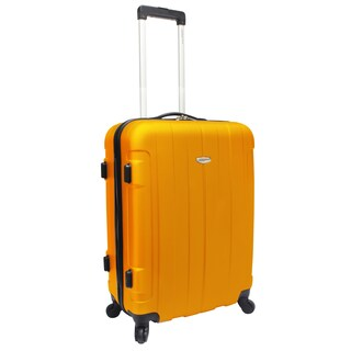 Traveler's Choice Rome 24-inch Medium Hardside Spinner Upright Suitcase