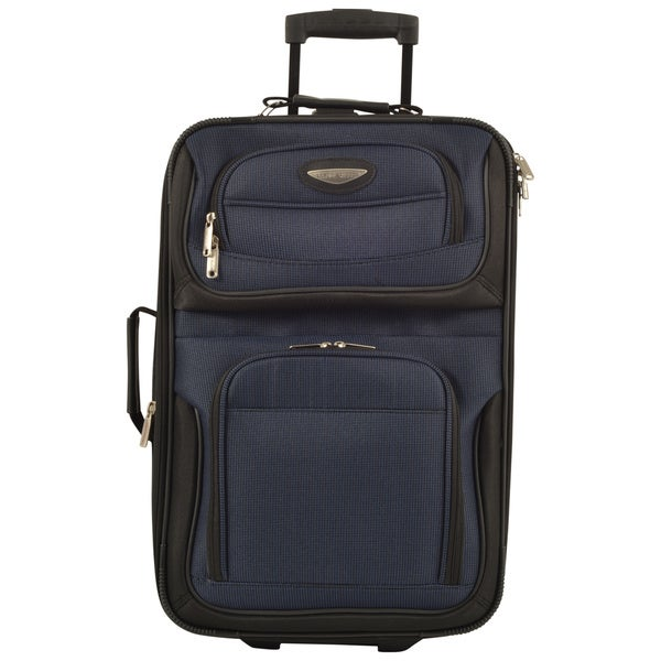 db7cd671e6 Travel Select by Traveler  x27 s Choice Amsterdam 21-inch Lightweight Carry  On