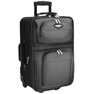 51dcd8f20b36 Travel Select by Traveler s Choice Amsterdam 21-inch Lightweight Carry On  Upright Suitcase