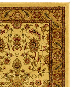 Safavieh Lyndhurst Traditional Oriental Ivory/ Tan Rug (3'3 x 5'3) - Thumbnail 1