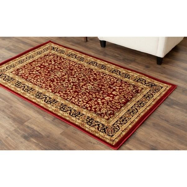 Safavieh Lyndhurst Traditional Oriental Red/ Black Rug - 3'3 x 5'3