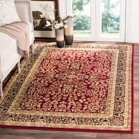 Safavieh Lyndhurst Traditional Oriental Red/ Black Rug - 8' X 11'