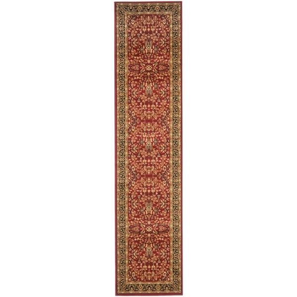 Safavieh Lyndhurst Traditional Oriental Red/ Black Runner Rug - 2'3 x 8'