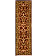 Safavieh Lyndhurst Traditional Oriental Red/ Black Runner Rug - 2'3 x 12'