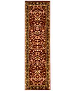 Safavieh Lyndhurst Traditional Oriental Red/ Black Runner (2'3 x 12')