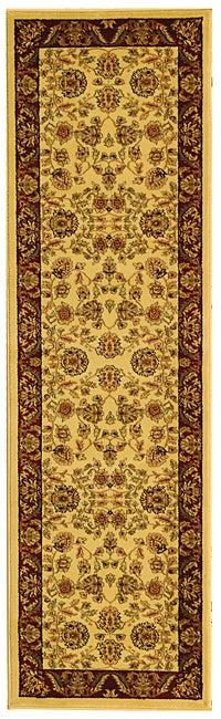 Safavieh Lyndhurst Traditional Tabriz Ivory/ Red Runner Rug - 2'3 x 8'