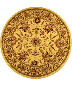 Safavieh Lyndhurst Traditional Oriental Ivory Rug (5' 3 Round)