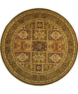 Safavieh Lyndhurst Traditional Oriental Green/ Multi Rug (5' 3 Round)