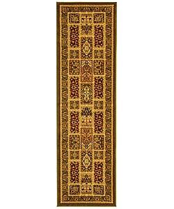 Safavieh Lyndhurst Traditional Oriental Green/ Multi Runner (2'3 x 8')