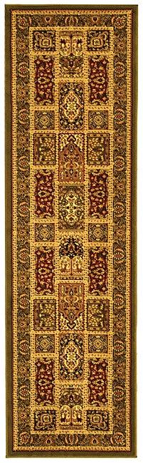 Safavieh Lyndhurst Traditional Oriental Green/ Multi Runner Rug - 2'3 x 12'