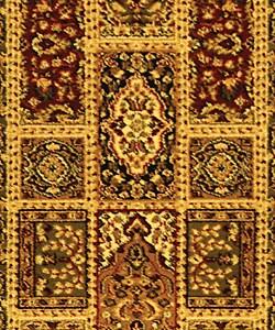 Safavieh Lyndhurst Traditional Oriental Green/ Multi Runner (2'3 x 12') - Thumbnail 2