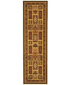 Safavieh Lyndhurst Traditional Oriental Green/ Multi Runner Rug - 2'3 x 12' - Thumbnail 0