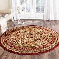 Safavieh Lyndhurst Traditional Oriental Red/ Multi Rug (5' 3 Round) - 5' 3 Round