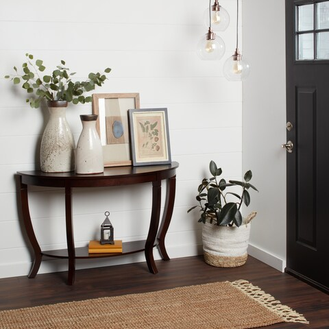 Stones & Stripes Lewis Wood Accent Table