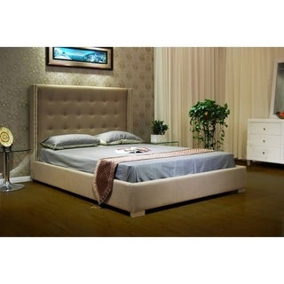 Greatime B1113 Fabric Platform Bed Size - California King