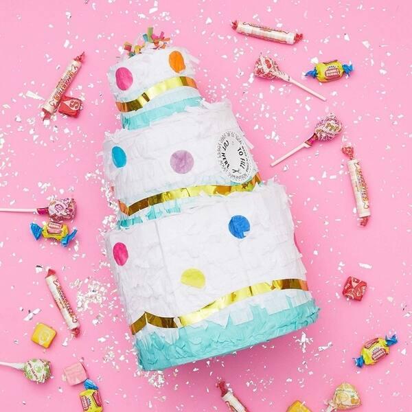 Awe Inspiring Shop Small Birthday Cake Pinata Cinco De Mayo Party Party Personalised Birthday Cards Beptaeletsinfo