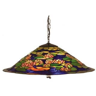 """Link to 24""""W Tiffany Pond Lily Pendant.602 Similar Items in Table Lamps"""