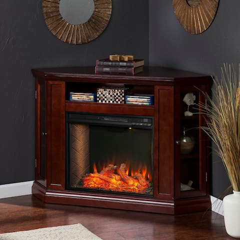 Copper Grove Cabot Alexa Enabled Smart Fireplace with Storage