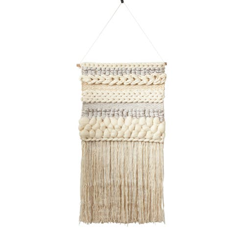 Fringe Wall Hanging With Braided Design