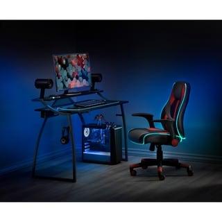 Link to Alpha Battlestation Gaming Desk, Black Similar Items in Home Office Furniture