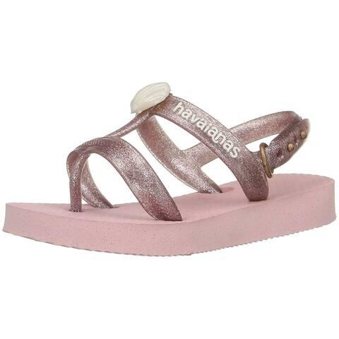 Havaianas Girls Joy Gladiator Sandal - Pearl Pink - 29/30 BR - 4135036-6615-13C/1Y