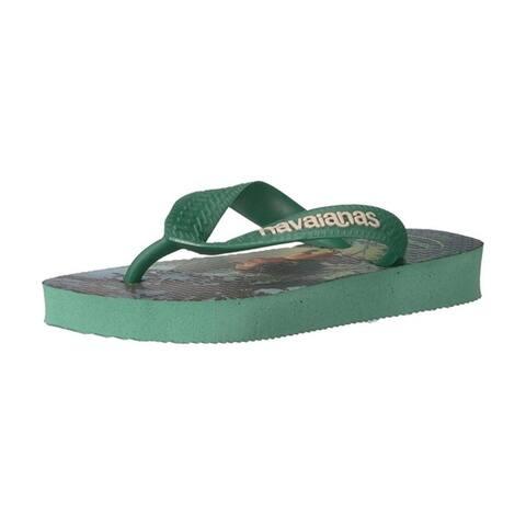 Havaianas Boys Kids Good Dinosaur Sandal Flip Flop - Green Tea - 23/24 BR