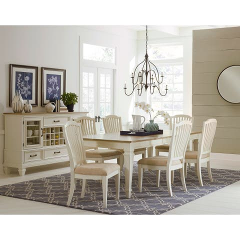 The Gray Barn Rimrock 7-Piece Rectangle Dining Table with 6 Side Chairs