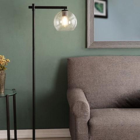 Corine Dark Bronze Finish Floor Lamp