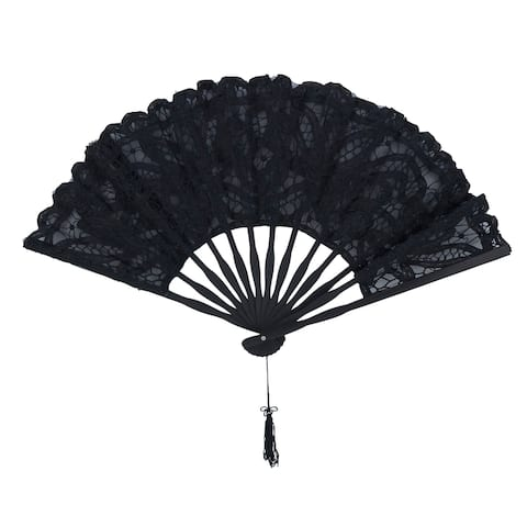 Lace Fan with Vintage Design