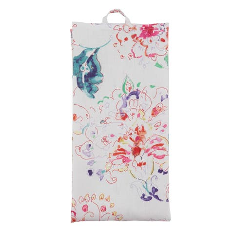 Printed Kitchen Towels With Floral Design (Set of 4)