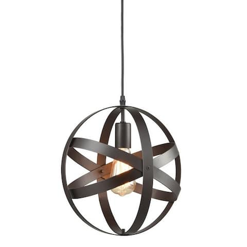 Gilli Industrial Vintage Spherical Pendant Light Metal Globe Downlight Chandelier