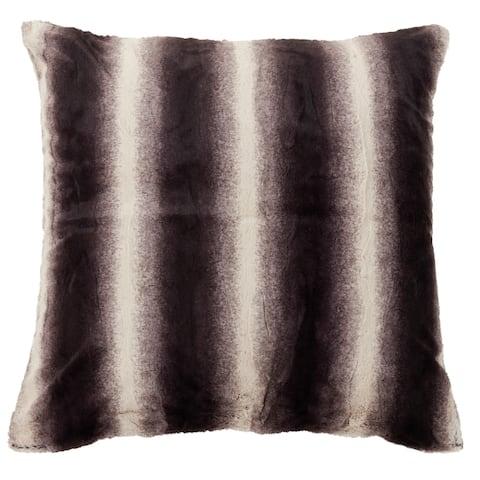Faux Fur Decorative Floor Pillow Cover