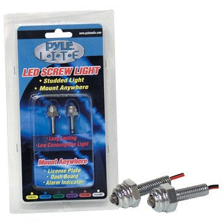 Pyle Purple LED Screw Light