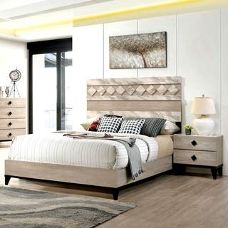 Samaris Transitional 2-piece Bedroom Set by FOA