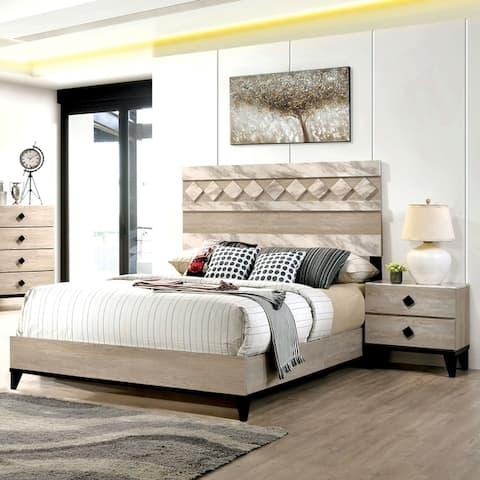 Carson Carrington Ubbalt Transitional 2-piece Bedroom Set