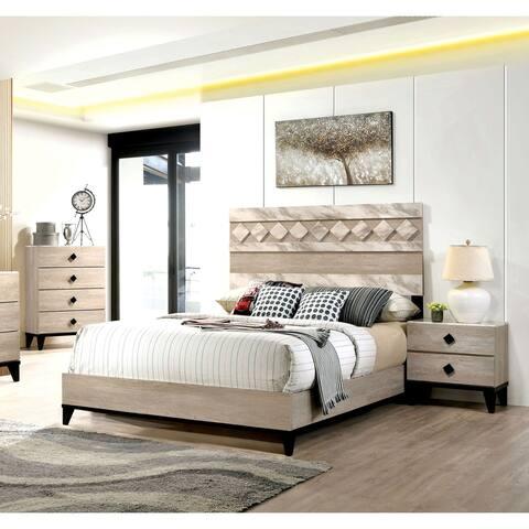 Carson Carrington Ubbalt Transitional 3-piece Bedroom Set w/ Storage