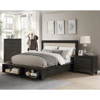 Furniture of America Torm Transitional 3-piece Bedroom Set w/ Storage