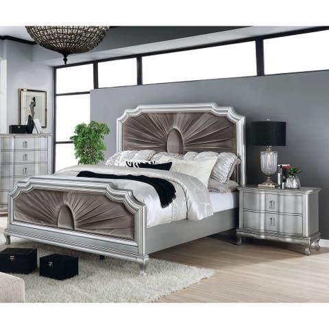 Furniture of America Maza Transitional 2-piece Bedroom Set