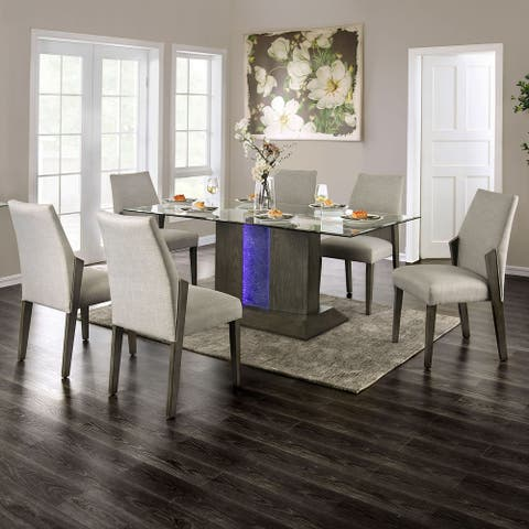 Carson Carrington Idekulla Grey 7-piece Dining Set