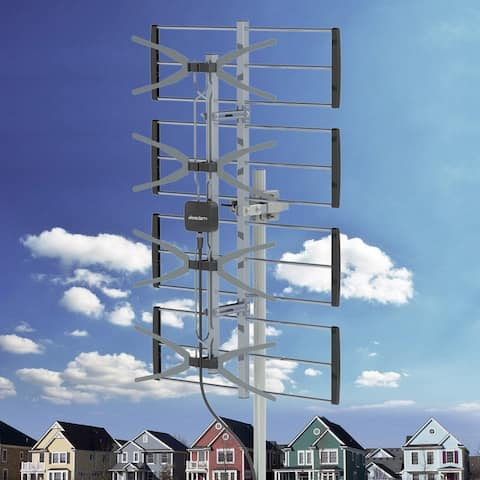 Digital HDTV Outdoor Amplified Antenna Mounting Pole