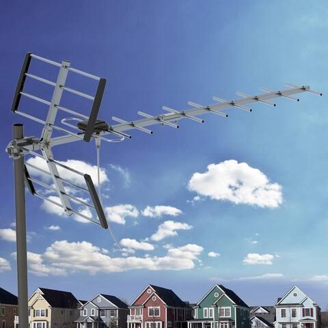 100 Miles Digital Amplified Outdoor/Roof HDTV Antenna