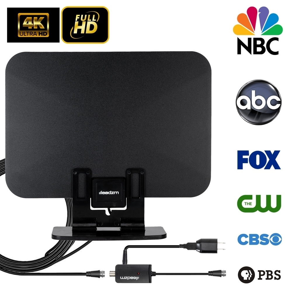 TV Antenna 2019 Newest HDTV 200 Miles Range for Free Local Channels 1080P 4K HD VHF UHF All TVs