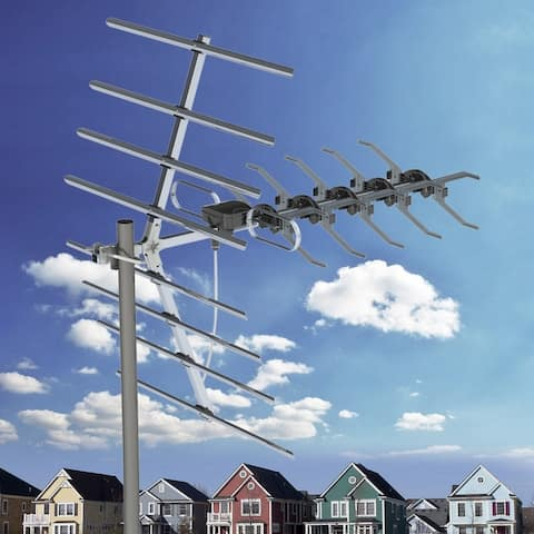90 Miles Digital Amplified Outdoor/Roof HDTV Antenna