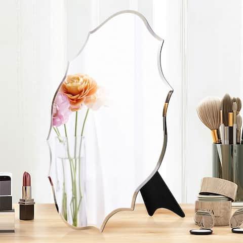 Mirror Trend Beveled Accent Frameless Mirror DM004S 12''X 15''