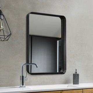 Mirror Trend Metal Beveled Venetian Wall Mirror DM013BK-2230 22''X 30''