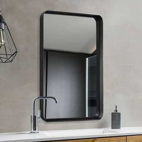 Carbon Loft Cornwell Metal Beveled Wall Mirror