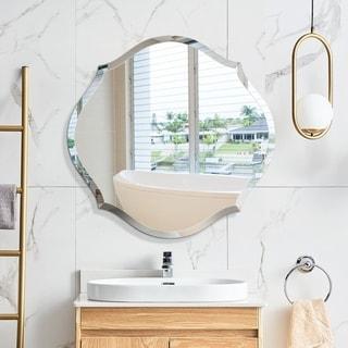 Mirror Trend Beveled Accent Frameless Mirror DM004R-28